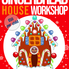 Gingerbread House Workshop 7th Dec.