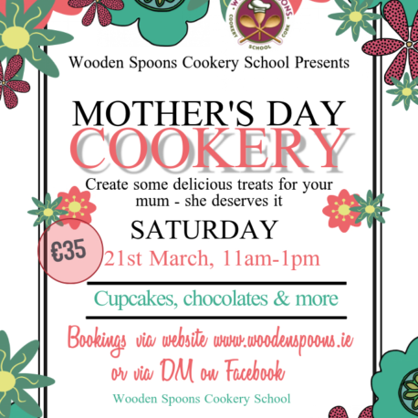 Wooden Spoons Mother's Day Cookery 2020